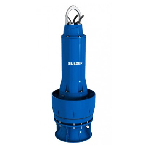 Axial flow pumps