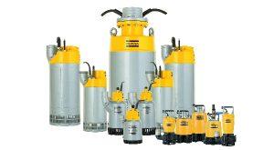 Atlas Copco Weda pumps