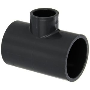 a upvc pipe fitting to be glued or solvent weld, reducing tee fitting