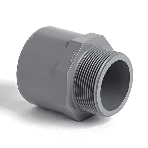 upvc solvent weld male adaptor