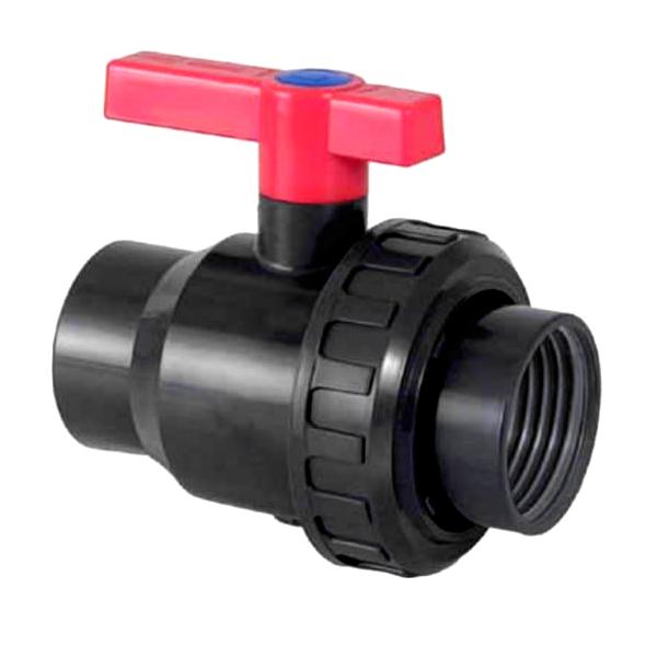 threaded single union ball valve