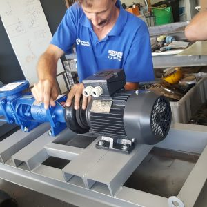 Pump Baseplate Fabrication